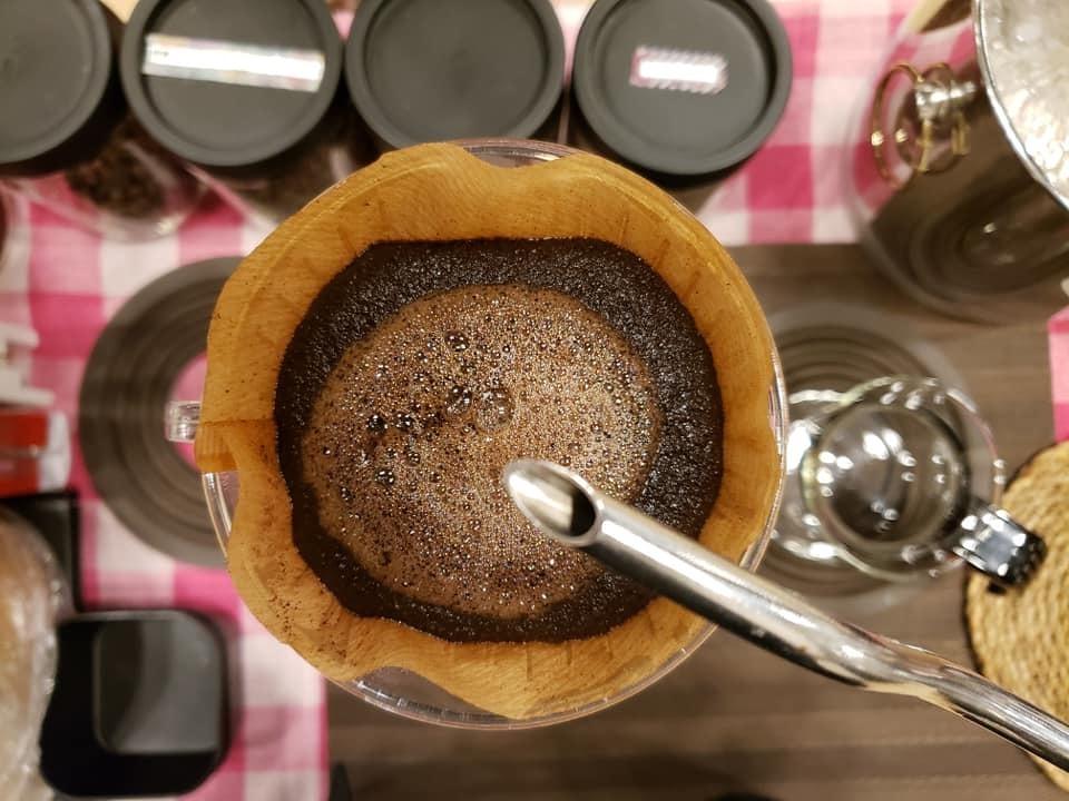 おすすめコーヒーDEコーヒータイム&プレゼントドリップバッグ作り